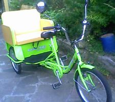 NEW trike tricycle pedicab adult three seat bike closing down sale mobility use