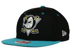 Anaheim Ducks NHL Vintage 2 Tone 9FIFTY Snapback Cap Hats d9a9489ace6