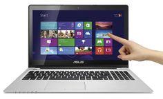 ASUS VivoBook S550 All-glass touchscreen
