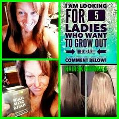 This product is amazing I've been using it for little over a month in my hair has grown 2 inches if you're interested give me a call 561 914 0815  Debra, Hair Skin Nails