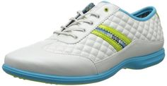 Made from synthetic material with a rubber sole these womens St. Kitts golf shoes by Callaway will ensure you look and feel your very best when out on the course