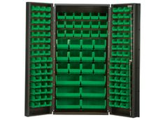 Find out more about our bin systems and 36 inch wide heavy-duty all-welded storage cabinets. Quantum Storage Systems offers a wide range of storage products. Green Colors, Bright Green, Storage Room, Storage Cabinets, Things To Think About, Cool Stuff, Garage, Husband, Pantry Room