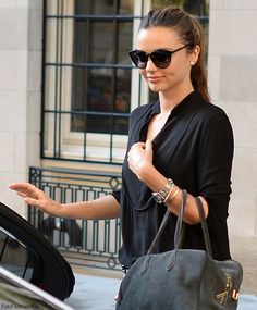 sunglasses and her fantastic style