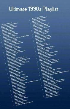 90's Music Playlist