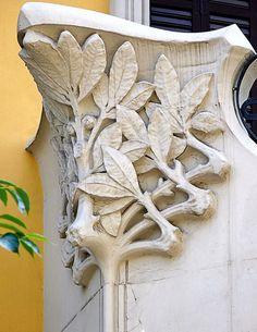 Art nouveau detail