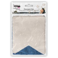 Pennant Set - Donna Salazar with Scrapbook Adhesives by 3L