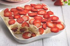 30x božské jahody, které si zamilujete | Apetitonline.cz Tiramisu, Raspberry, Cheesecake, Menu, Sweets, Fruit, Cooking, Recipes, Pastries