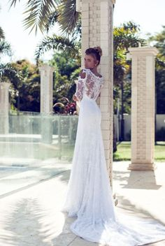 Nurit Hen Wedding Dresses 2014 Love these dresses, much more my style: relaxed sexy