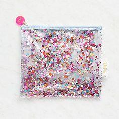 Confetti Clear Pouch