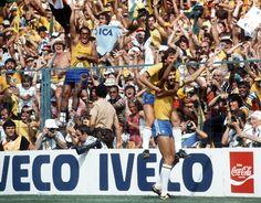 1982 World Cup. #Socrates #Zico