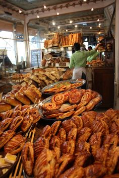 "Best bread in town: ask for ""Le Pain des Amis"" at 'Du Pain et Des Idees'- best bakery ever in Paris."