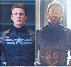 Steve Rogers (Captain America) through the years