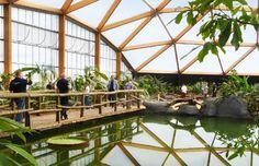 Amazonica Diergaarde Blijdorp Rotterdam ZOO NL | Arc2 architecten Geodomedesign