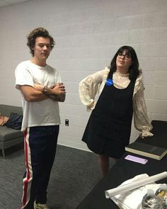 Harry backstage in Sacramento. July 9th