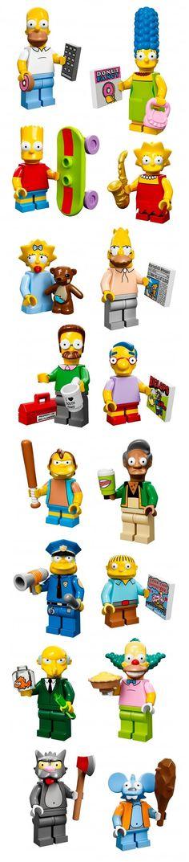 Figurines Lego série 13 : les Simpsons