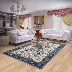 Vloerkleed, tapijt, 200x300 cm. Materiaal: wol.