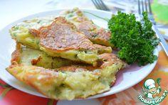 Сырная лепешка на сковороде - кулинарный рецепт