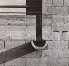 Caveesh Detail Exploration Casa Bianca, Riva San Vitale, Ticino, Switzerland (1973) | Mario Botta