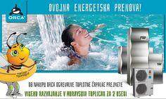 Ob nakupu ogrevalne toplotne črpalke proizvajalca Coolwex by Orca prejmete Vikend paket razvajanja za 2 osebi v Moravskih toplicah v hotelu Livada Prestige z vključenim polpenzionom in neomejenim kopanjem v bazenih Term 3000! www.varcno-ogrevaj.si/z-orco-do-dvojne-energetske-prenove