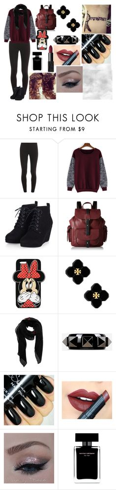 """""""Red week (:"""" by casandra-machado ❤ liked on Polyvore featuring Splendid, Kenneth Cole Reaction, Forever 21, Tory Burch, Givenchy, Valentino, Fiebiger, Narciso Rodriguez and NARS Cosmetics"""