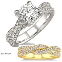 So sophisticated and modern.. #engagementring  www.TidewaterKeepsakeJewelers.com