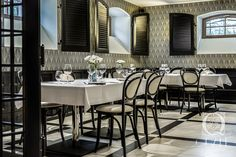 Private Dining Room at Quale Restaurant in Lodz, Poland