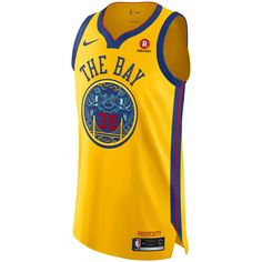 best sneakers 3679f 7ae1e Stephen Curry City Edition Authentic Jersey (Golden State Warriors) Men s  Nike NBA Connected Jersey by Nike