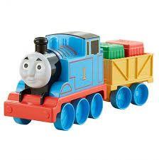 Resultado de imagen para tren thomas de madera