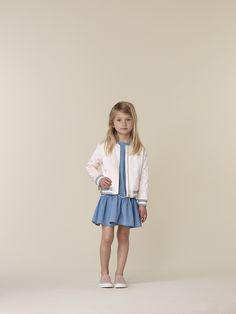 Chloé Spring/Summer 17 collection  Available on Smallable : http://en.smallable.com/chloe  Boys. Girls. Toddlers. Childrenswear. Fashion. Summer. Outfits. Clothes. Smallable