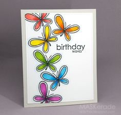 MASKerade: Butterfly Birthday Wishes