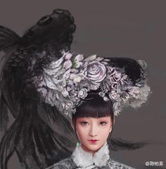 imperial concubine of Qing Dynasty , China