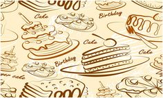 Yummy Cake Wallpaper