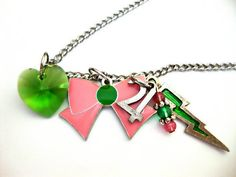 Sailor Jupiter Necklace. $20.00, via Etsy.