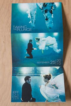 """Taking the plunge"" Save the dates..amazing!"