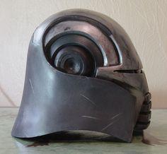 Lord Starkiller Helmet by ~MyWickedArmor on deviantART