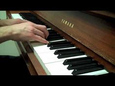 Jason Mraz - I Wont Give Up - Cover (piano) -beautiful to walk down the aisle to