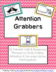Kindiekins: Attention Grabbers *FREE* Download :)