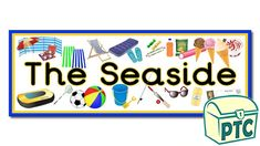Seaside Shop Role Play Resources - Primary Treasure Chest Seaside Shops, Classroom Banner, Ourselves Topic, Display Banners, Sound Art, Letter Sounds, Role Play, Treasure Chest, Phonics