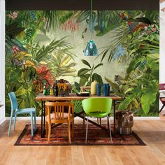 Komar Into the Wild Tropical Rain Forest Scenic Wall Mural