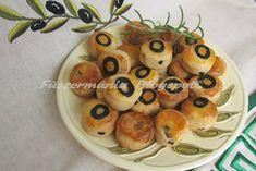 Olívas túrós pogácsa
