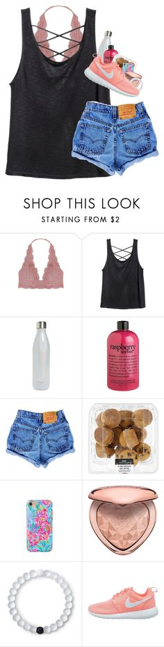 """""""Just finished babysitting"""" by artsydoglovergabs ❤ liked on Polyvore featuring Humble Chic, S'well, philosophy, Lilly Pulitzer, Lokai and NIKE"""