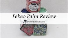 Pebeo Paints Review