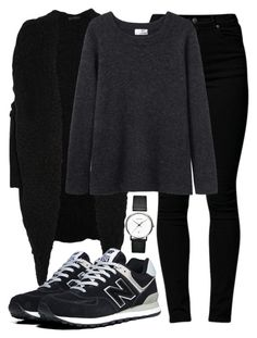 """""""Untitled #93"""" by spejlvendt ❤ liked on Polyvore featuring Donna Karan, Cheap Monday, Acne Studios, New Balance and Georg Jensen"""