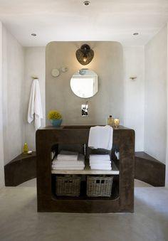 Resultado de imagen de lavabo separacion ducha