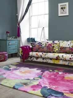 Colorful modern rugs | Daily Dream Decor