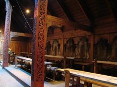 The Great Hall (Photo: Lofotr Viking Museum)