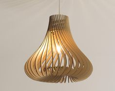 Lasercut Wooden Lampshade The Waffle Wooden Lampshade, Wood Lamps, Lampshades, Ceiling Pendant, Ceiling Lamp, Pendant Lighting, Laser Cut Lamps, Light Contouring, Lampshade Designs