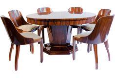 Art Deco Dining Suite
