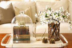 Coffee Table Vignettes - Bing images