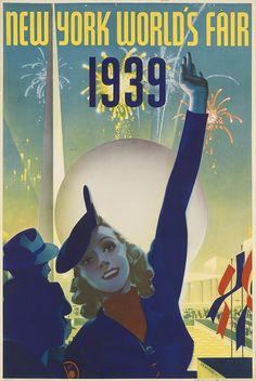 ALBERT STAEHLE (1899-1974) NEW YORK WORLD'S FAIR 1939
